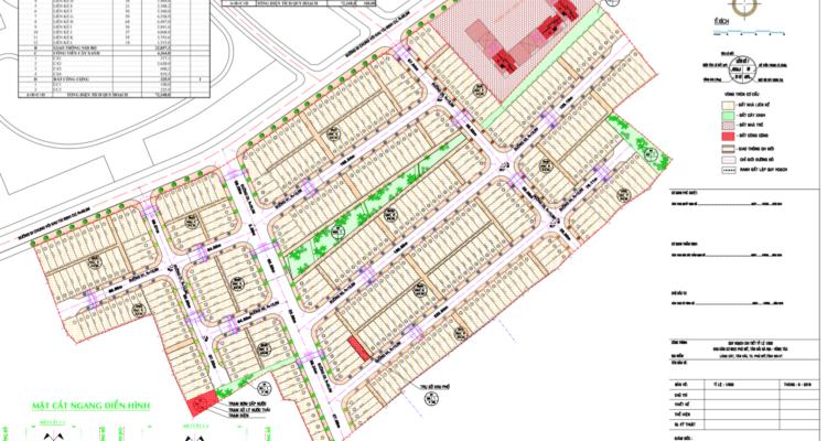 bản đồ phân lô dự án lic city