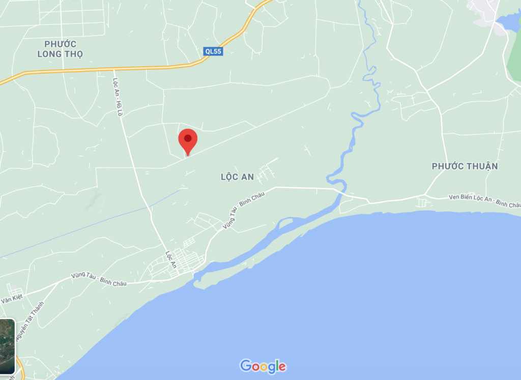 Vị trí Sandy Residen trên googlemaps